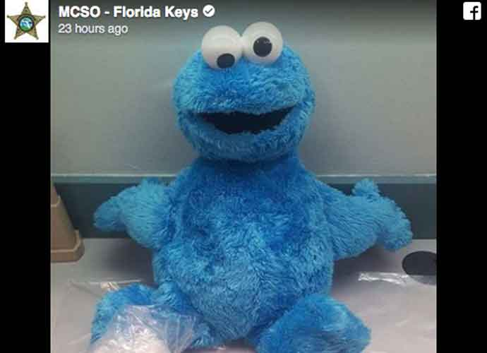 Cookie Monster Doll Stuffed With Cocaine Leads To Arrest Of Camus McNair