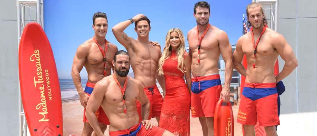 Madame Tussauds Hollywood Unveils Zac Efron 'Baywatch' Wax Figure