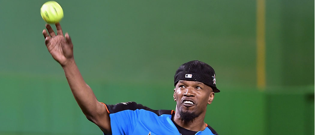 Jamie Foxx Attends MLB All-Star Legends & Celebrity Softball Game