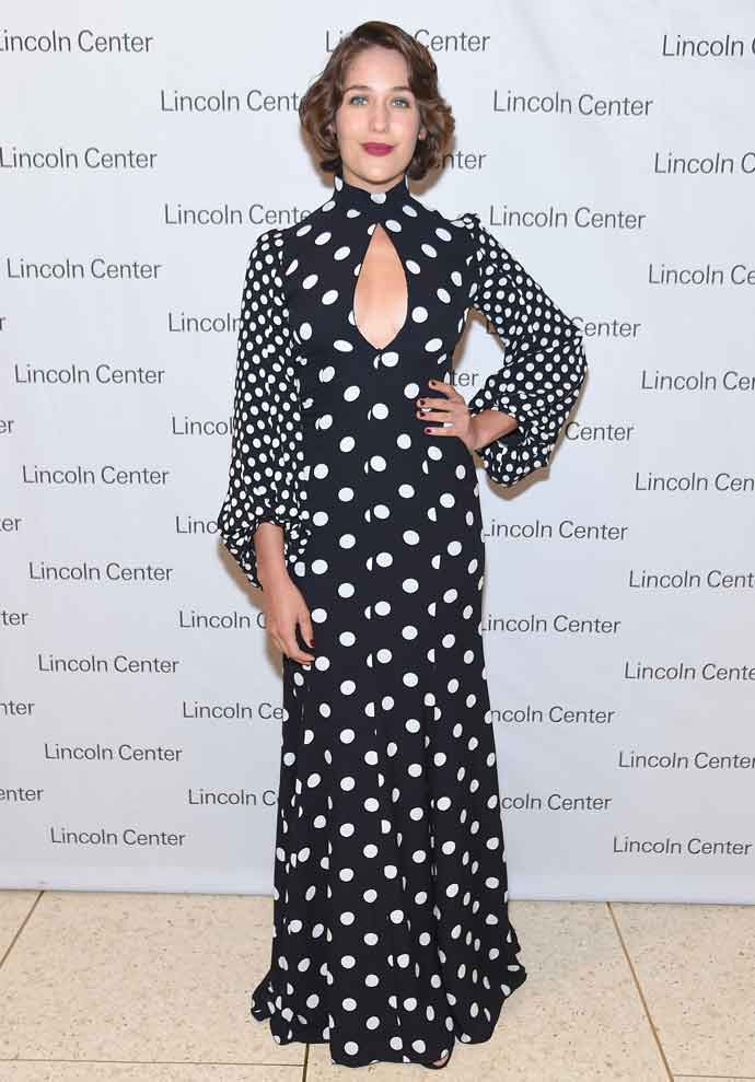 Get The Look: Lola Kirke's Andrew Gn Polka Dot Dress At Lincoln Center's Mostly Mozart Opening Gala