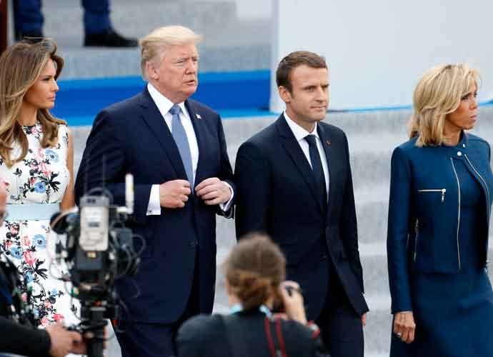 Donald Trump Attends Bastille Day Parade In Paris, #BastilleDay Trending On Twitter