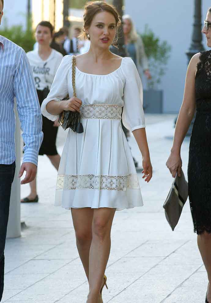 Natalie Portman Attends Christian Dior Exhibition In Paris