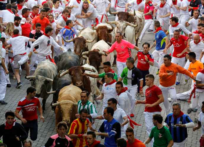 3 Gored During The Running Of The Bulls In Spain [PHOTOS]