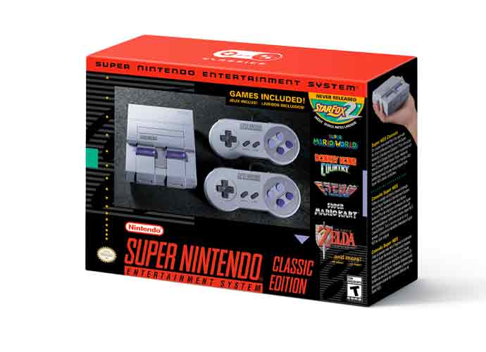 Preorders For Nintendo's Super NES Classic Edition Will Begin Later This Month