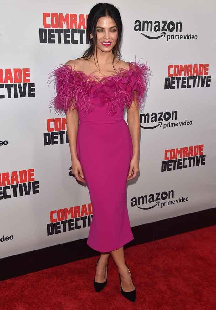 Jenna Dewan Tatum Stuns In Burberry At 'Comrade Detective' Premiere