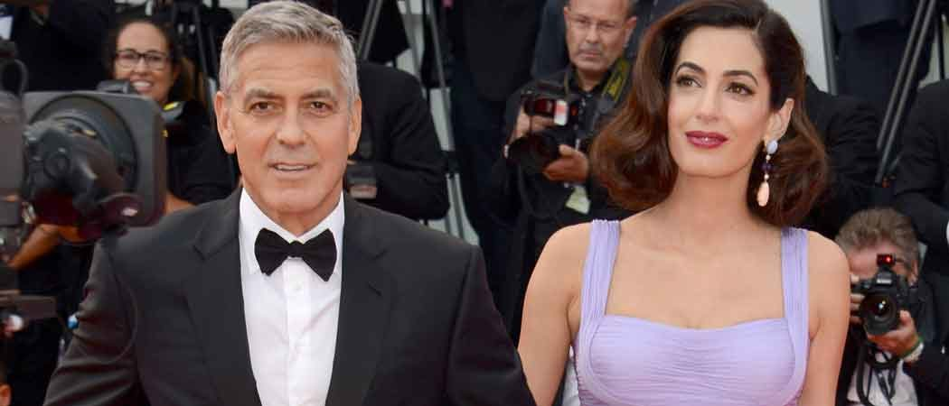 George & Amal Clooney Attend 'Suburbicon' Premiere At Venice Film Festival