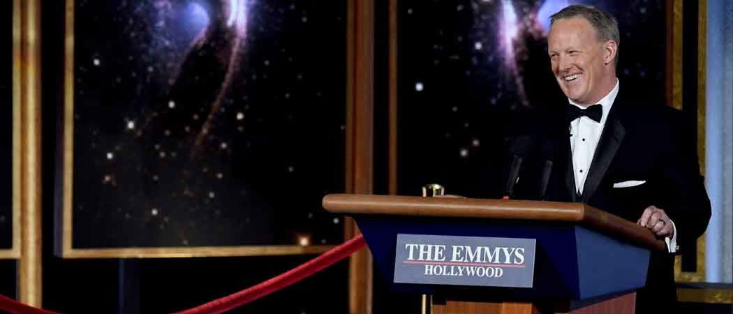 Sean Spicer Makes Surprise Appearance At 2017 Emmys, Leaves Some Viewers Angry