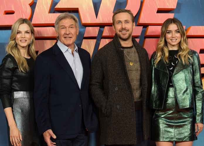 Harrison Ford, Ryan Gosling & Cast Attend 'Blade Runner 2049' Photocall In London