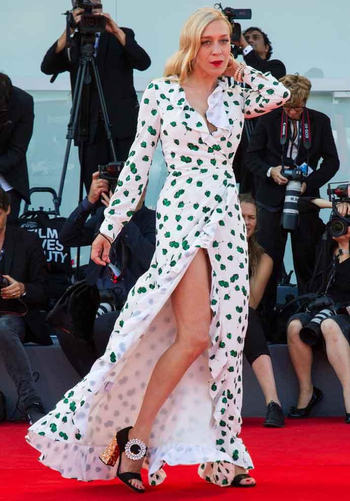 Chloe Sevigny Flashes Underwear At Venice Film Festival