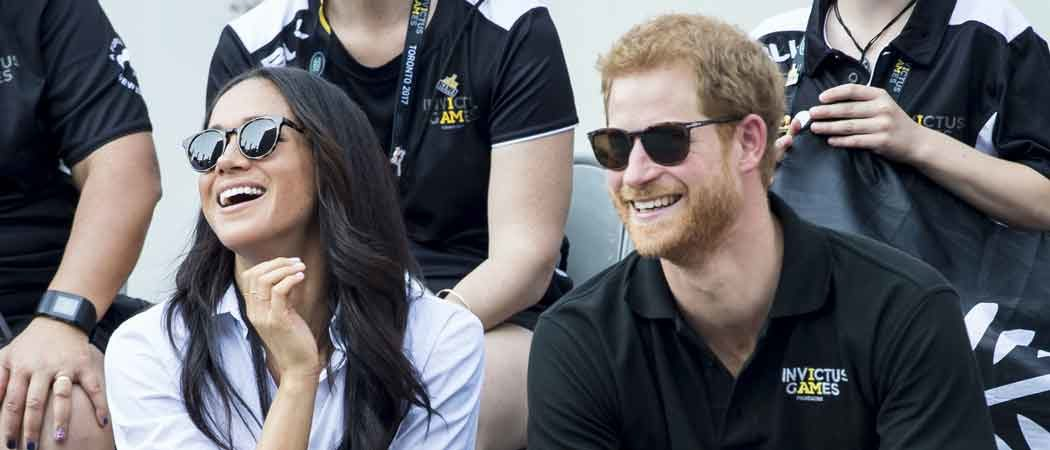 Meghan Markle & Prince Harry Hold Hands Watching Invictus Games Tournaments