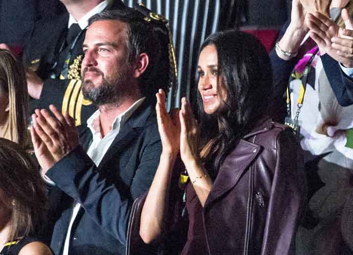 Meghan Markle & Markus Anderson Watch The 2017 Invictus Games Opening Ceremony