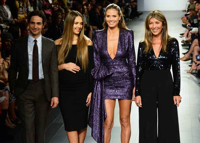 Heidi Klum Attends New York Fashion Week With 'Project Runway'Pals