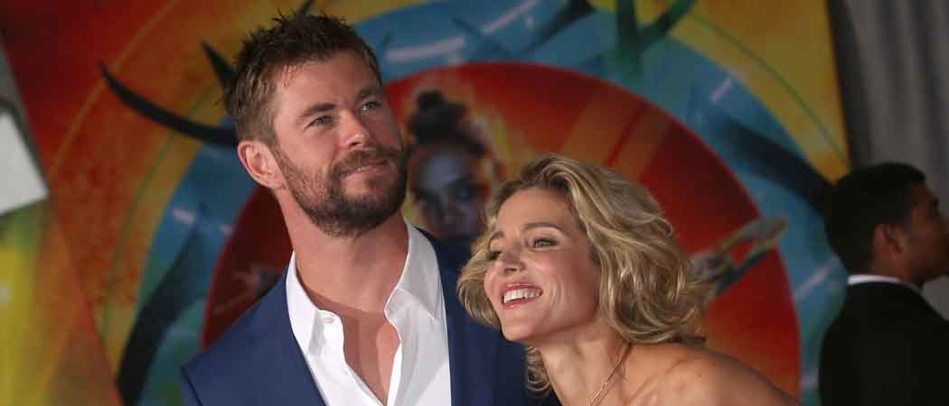 Chris Hemsworth & Elsa Pataky Attend 'Thor: Ragnarok' World Premiere