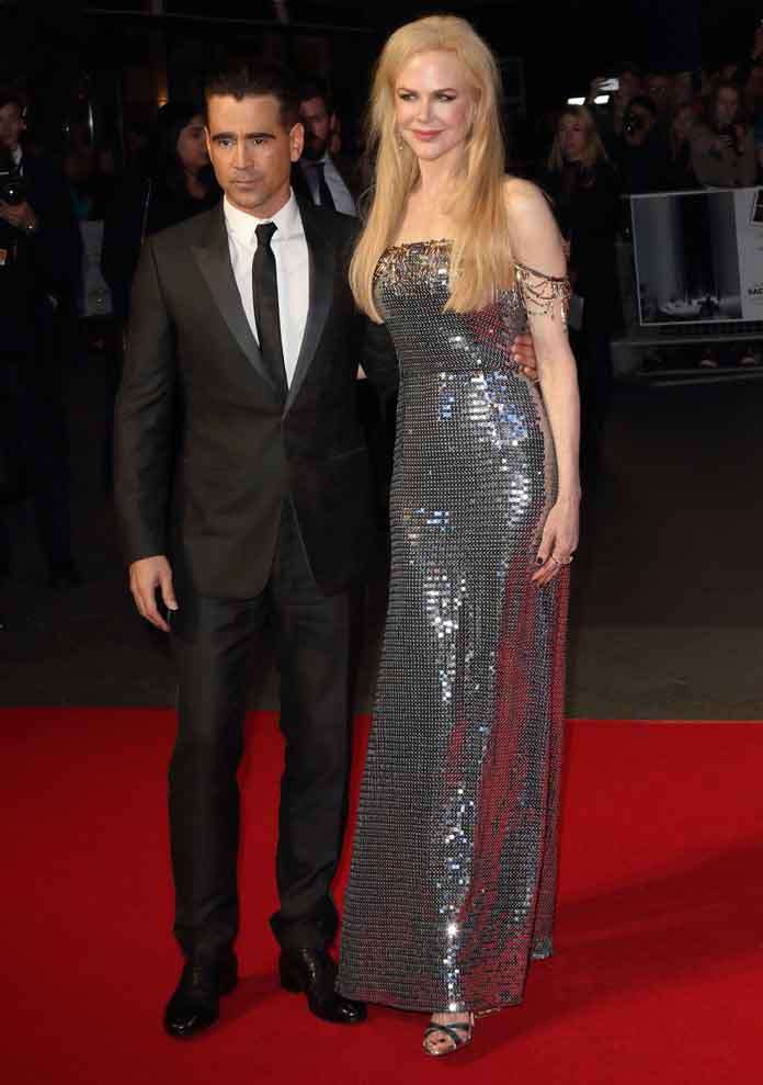 Nicole Kidman & Colin Farrell Shine At London Film Festival