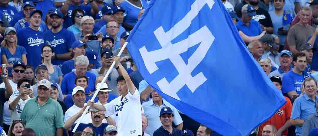Ken Jeong Cheers On Los Angeles Dodgers Before World Series Game 1 Victory