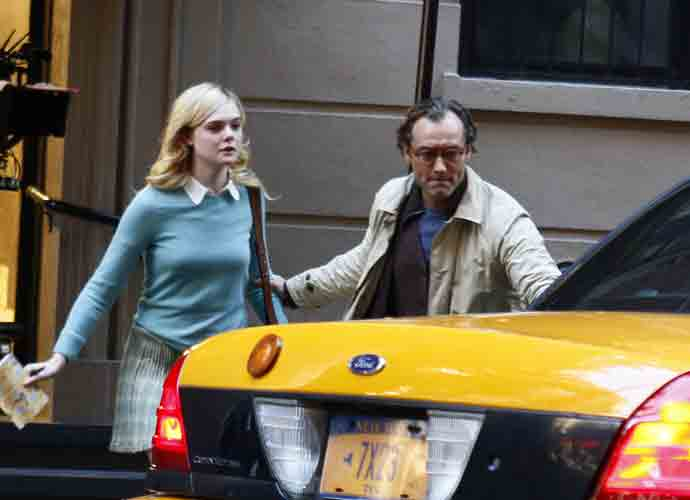 Elle Fanning & Jude Law Spotted Filming New Woody Allen Film