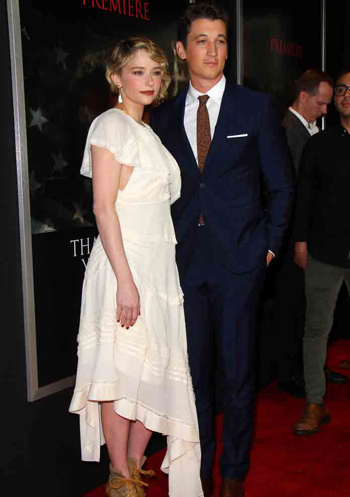 Haley Bennett & Miles Teller Look Elegant At 'Thank You For Your Service' Premiere