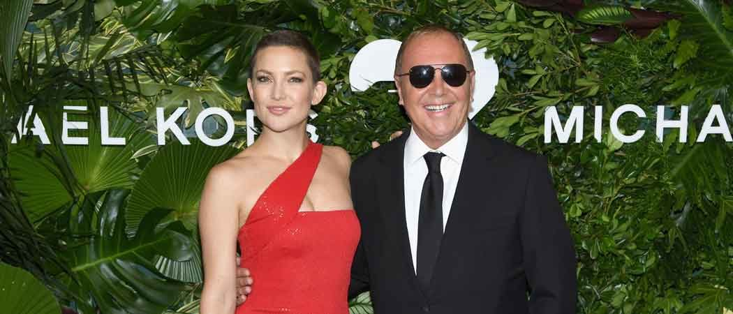 Kate Hudson Shows Off Buzz Cut At Annual Golden Heart Awards