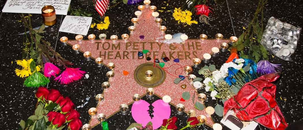 Fans Gather At Tom Petty's Hollywood Walk Of Fame Star In Tribute