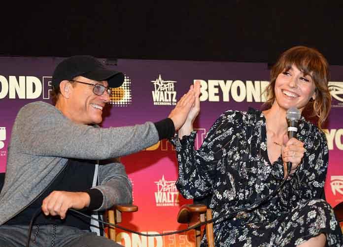 Jean-Claude Van Damme & Kat Foster Speak At 'Jean-Claude Van Johnson' Screening AT NYFF