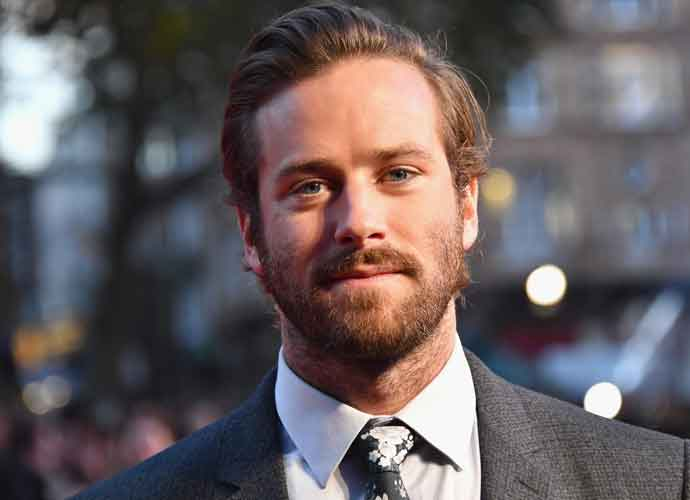 Armie Hammer Shares Old Mugshot With Fans