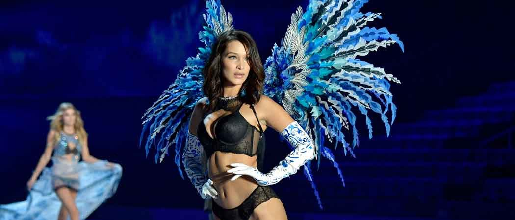 Bella Hadid Rocks Angel Wings At Victoria's Secret Fashion Show [SLIDESHOW]