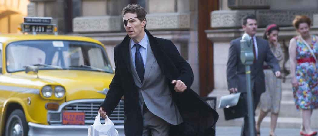 Benedict Cumberbatch Sports An Eyepatch While Filming 'Melrose' In Glasgow