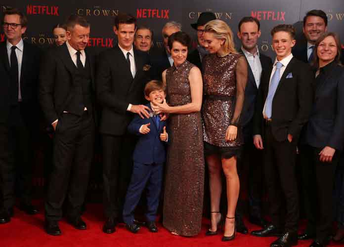 Claire Foy & Matt Smith Attend 'The Crown' Season 2 World Premiere