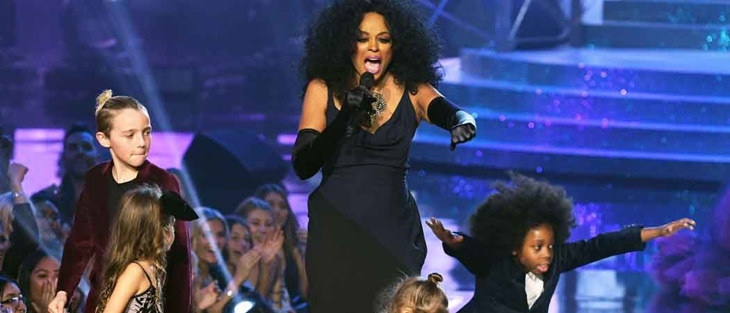 Diana Ross' Grandson, Raif-Henok Emmanuel Kendrick, Steals Show At AMAs With Dance Moves