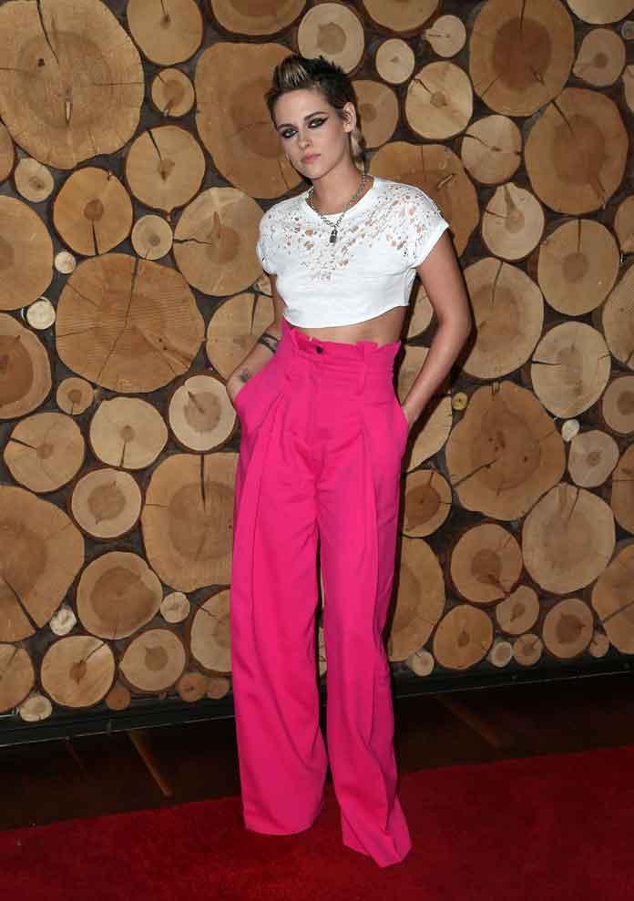 Kristen Stewart Debuts Edgy Punk Hairdo To 'Come Swim' Premiere