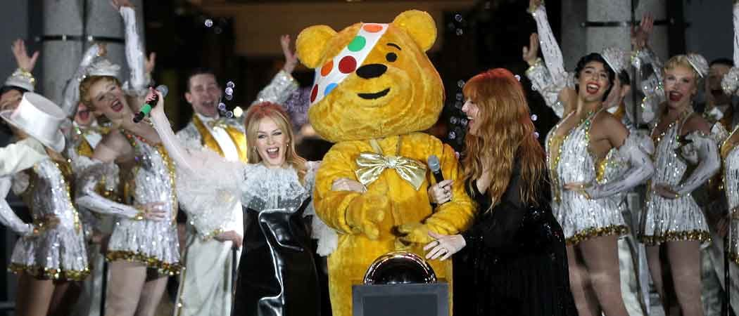 Kylie Minogue & Charlotte Tilbury Turn On Covent Garden Christmas Tree Lights