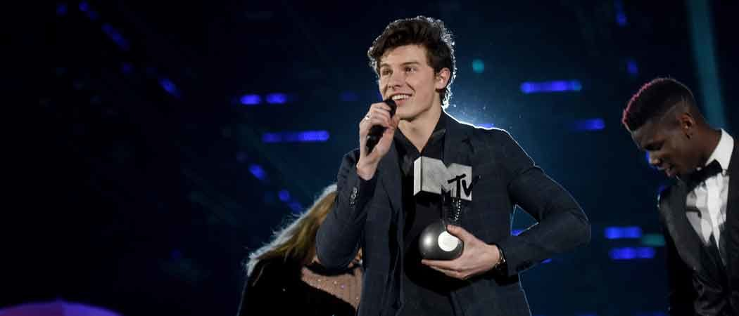 Shawn Mendes Wins Four, Including Best Song, At MTV EMAs [Full Winners List]
