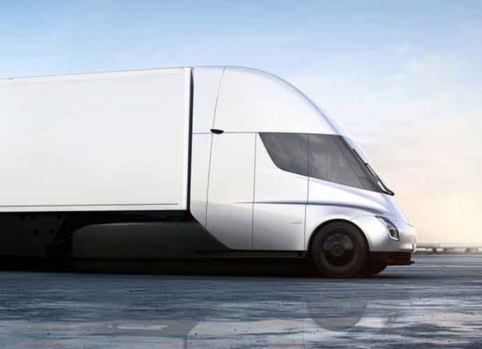 Tesla Unveils Electric Big Rig Truck, Semi