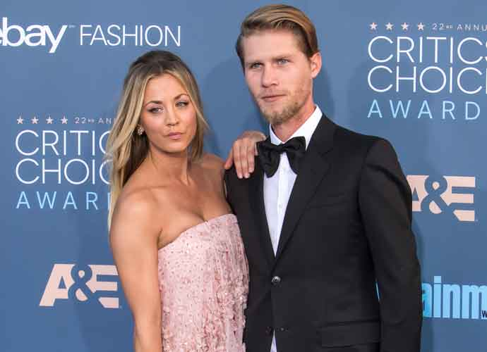 Karl Cook Responds After Split With Kaley Cuoco
