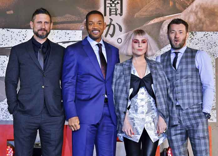 Will Smith & Joel Edgerton Walk Red Carpet At 'Bright' Premiere In Tokyo