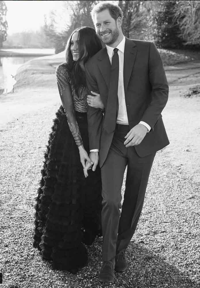 Prince Harry & Meghan Markle Release Engagement Photos