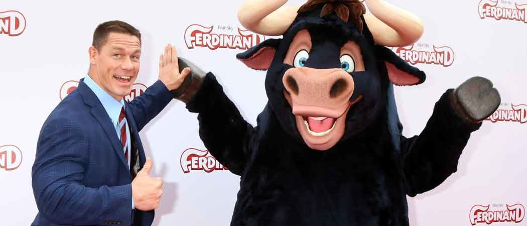 John Cena Attends Screening Of 'Ferdinand' In Los Angeles