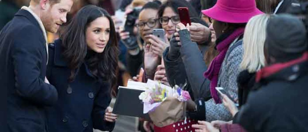 Prince Harry & Meghan Markle Greet Fans At Terrance Higgins Trust World AIDS Day Fair