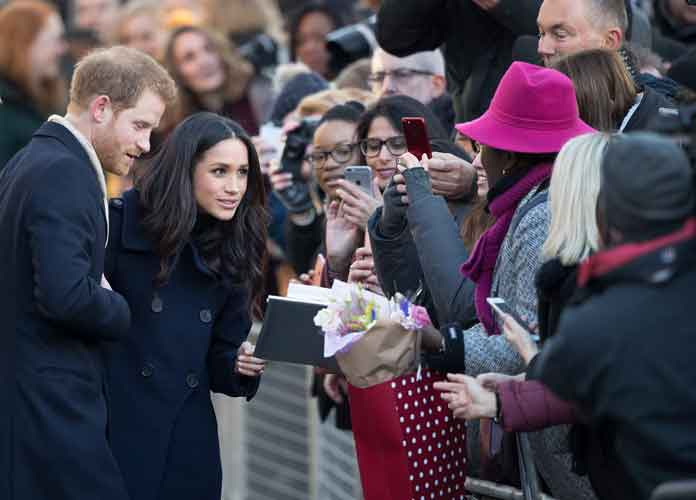 Prince Harry & Meghan Markle Greet Fans At Terrance Higgins Trust World AIDS Day Fair