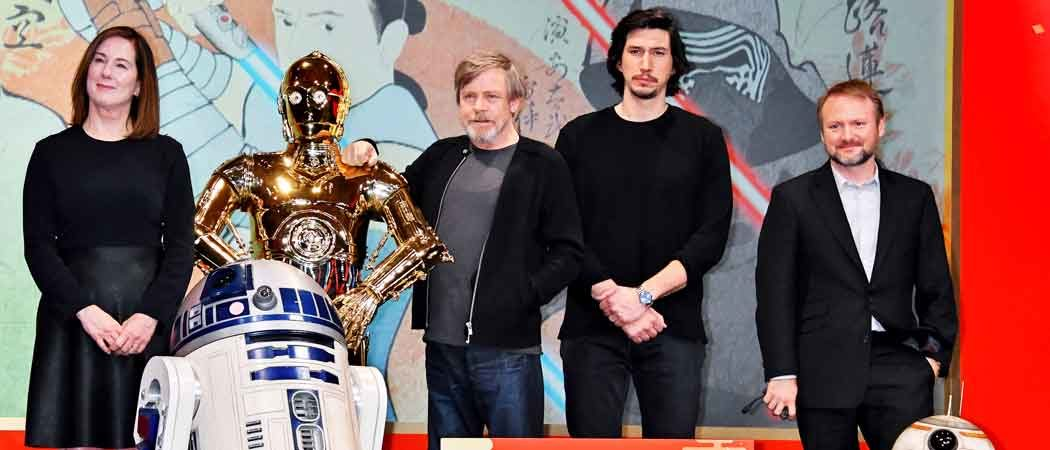 'Star Wars: The Last Jedi' Actors Attend Photocall & Press Conference In Tokyo
