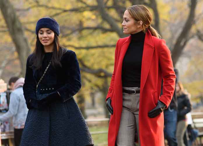 Jennifer Lopez & Vanessa Hudgens Spotted On Set Of 'Second Act'