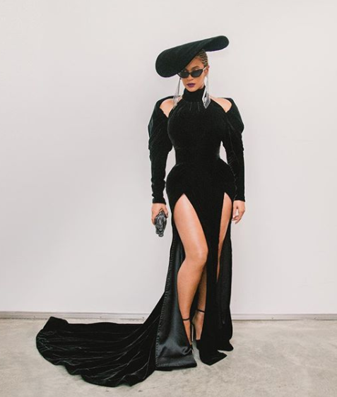 Beyonce Wore Black Panther-Inspired Grammys' Dress By Nicolas Jebran With $7 Million Of Jewelry