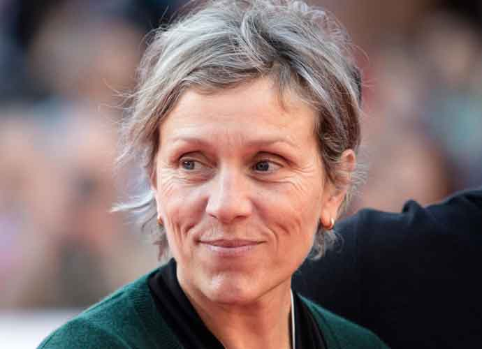 Man Arrested For Stealing Frances McDormand's Oscar