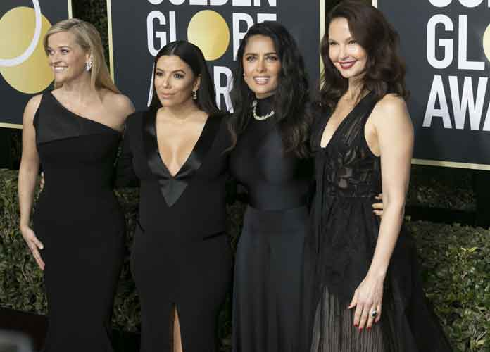 Actresses Wear Black At 2018 Golden Globes To Support Me Too Movement