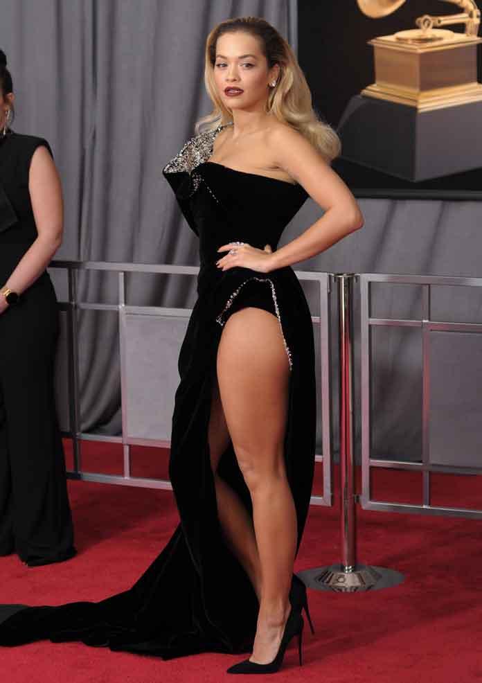 Rita Ora Manages To Look Stunning In Ralph & Russo Despite Wardrobe Malfunction
