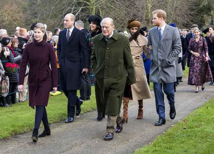 British Royal Family Celebrates Christmas At Sandringham House