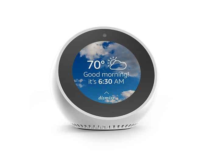 Amazon Echo Spot Review: A Loud, Alexa-Enabled Alarm