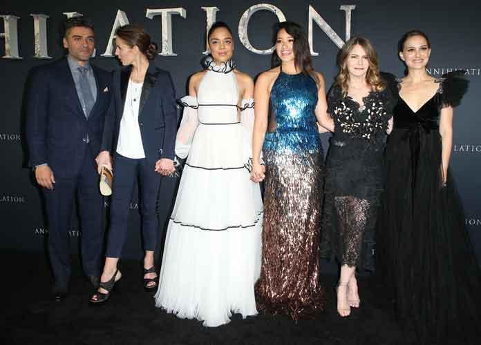 Natalie Portman, Gina Rodriguez & Cast Of 'Annihilation' Arrive At Premiere