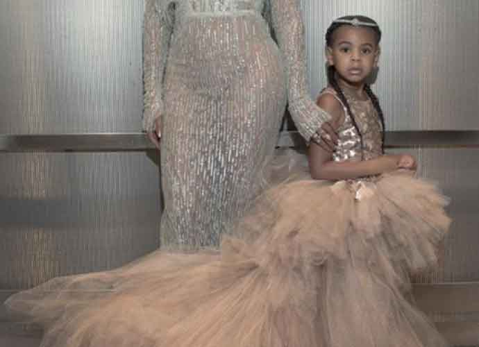 Blue Ivy Carter, Beyoncé & Jay-Z's Daughter, Rocks $1800 Designer Bag At All-Star Game [PHOTOS]