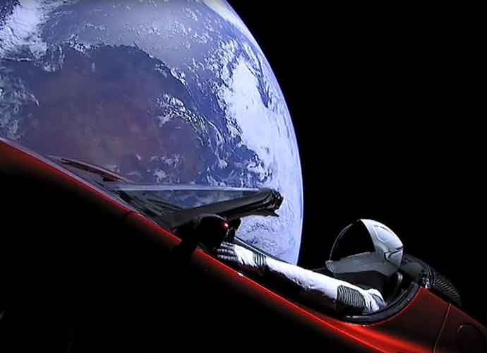 Red Tesla Roadmaster Flies Into Space Courtesy Of SpaceX's Falcon Heavy Rocket [VIDEO]